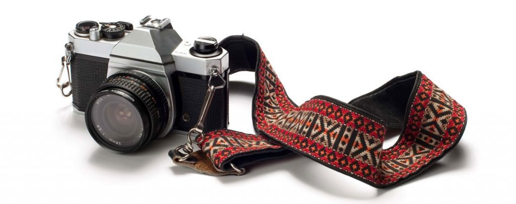 An image of a film powered camera.