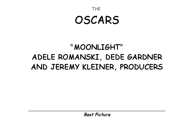 Oscars nomination
