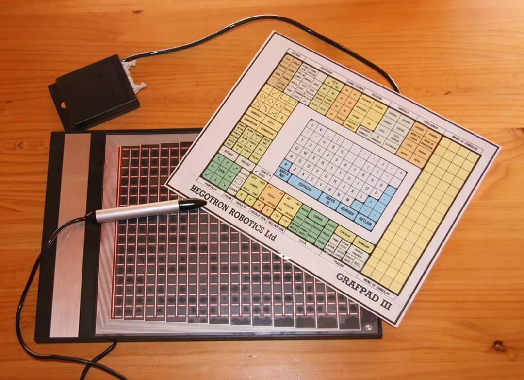 British Micros' Grafpad III