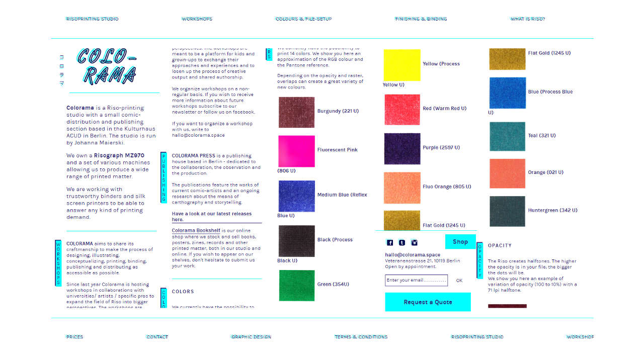 Website design infographic showing responsive data