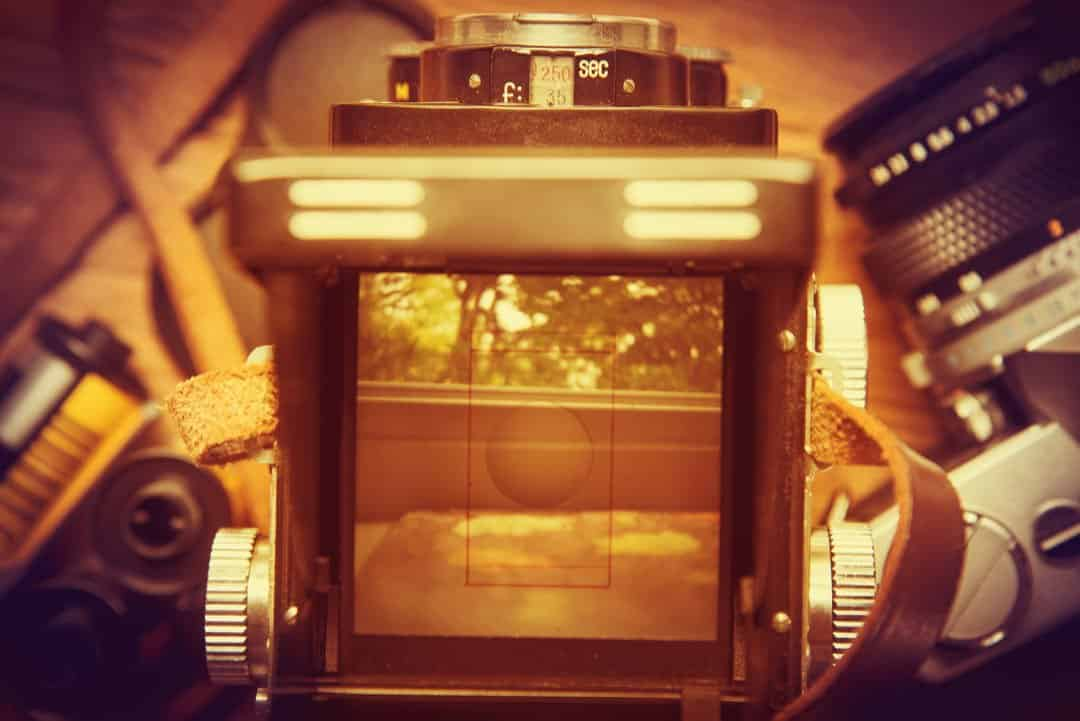 Bespoke Imagery Twin Lens Camera image by TW Stock (via Shutterstock).