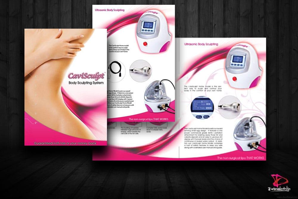 Brochure Design for company in Oxford