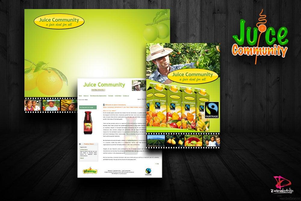 Brochure Design for company in London