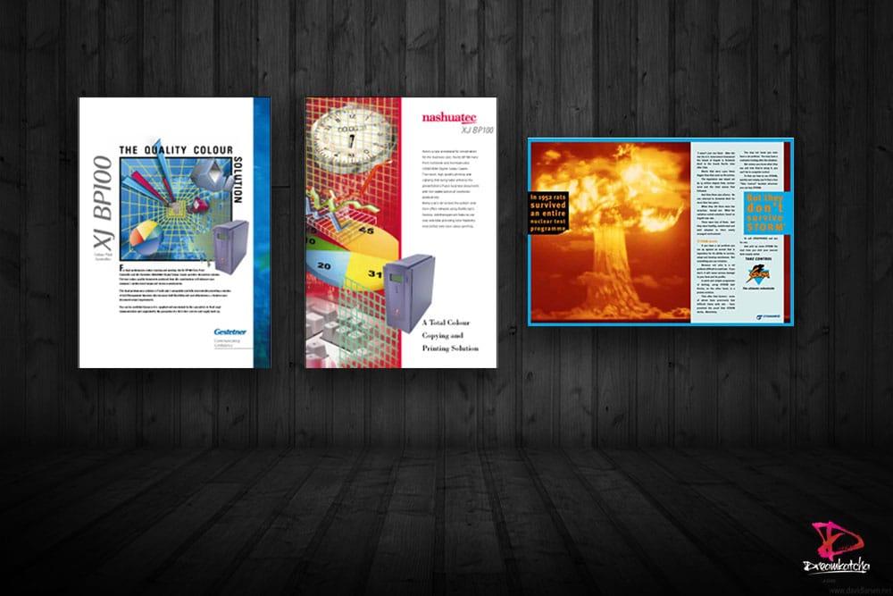 Brochure Design for company in Surrey