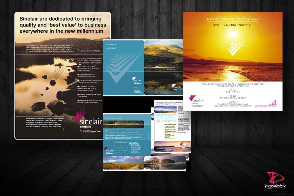 Brochure Design for company in Berkshire
