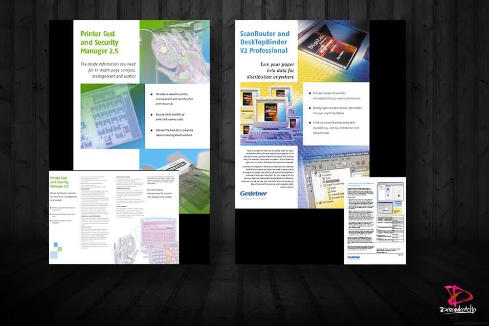Brochure Design for company in Wokingham