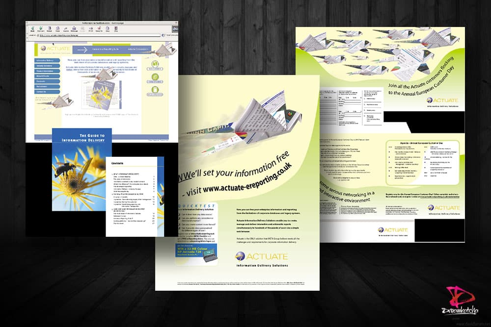 Brochure Design for company in Slough