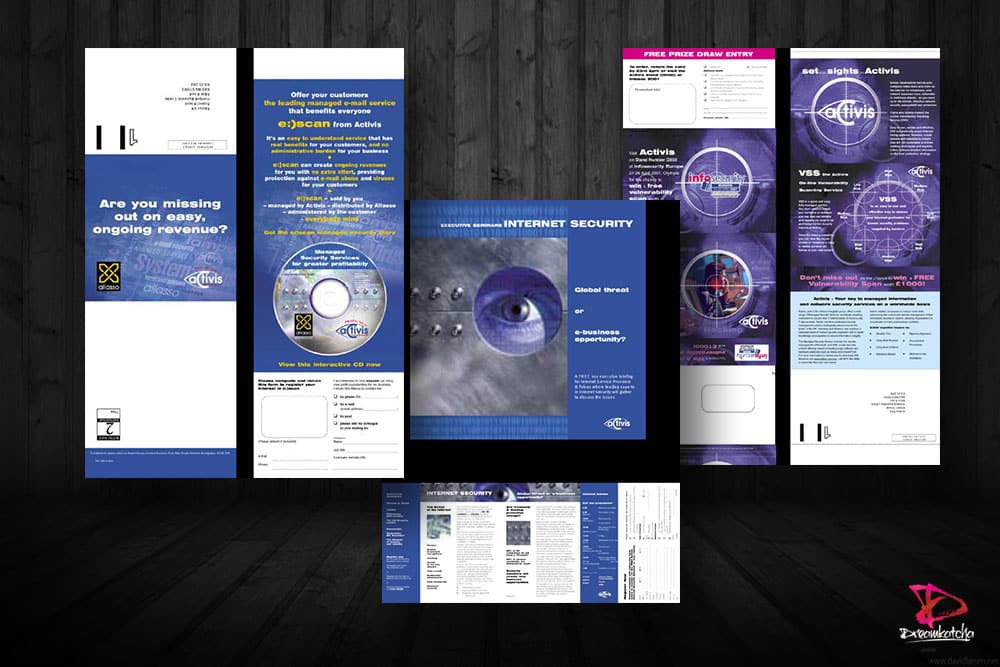 Brochure Design for company in Reading