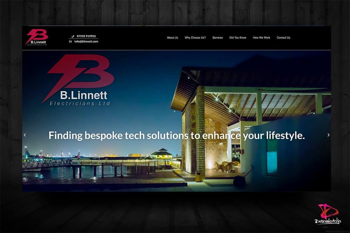 website Design for Elecrtrician London