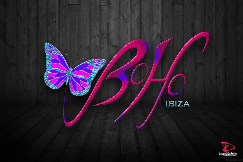 Logo Design for an Ibiza Nightclub