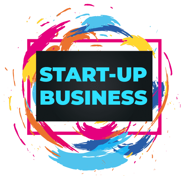 Start up business services button