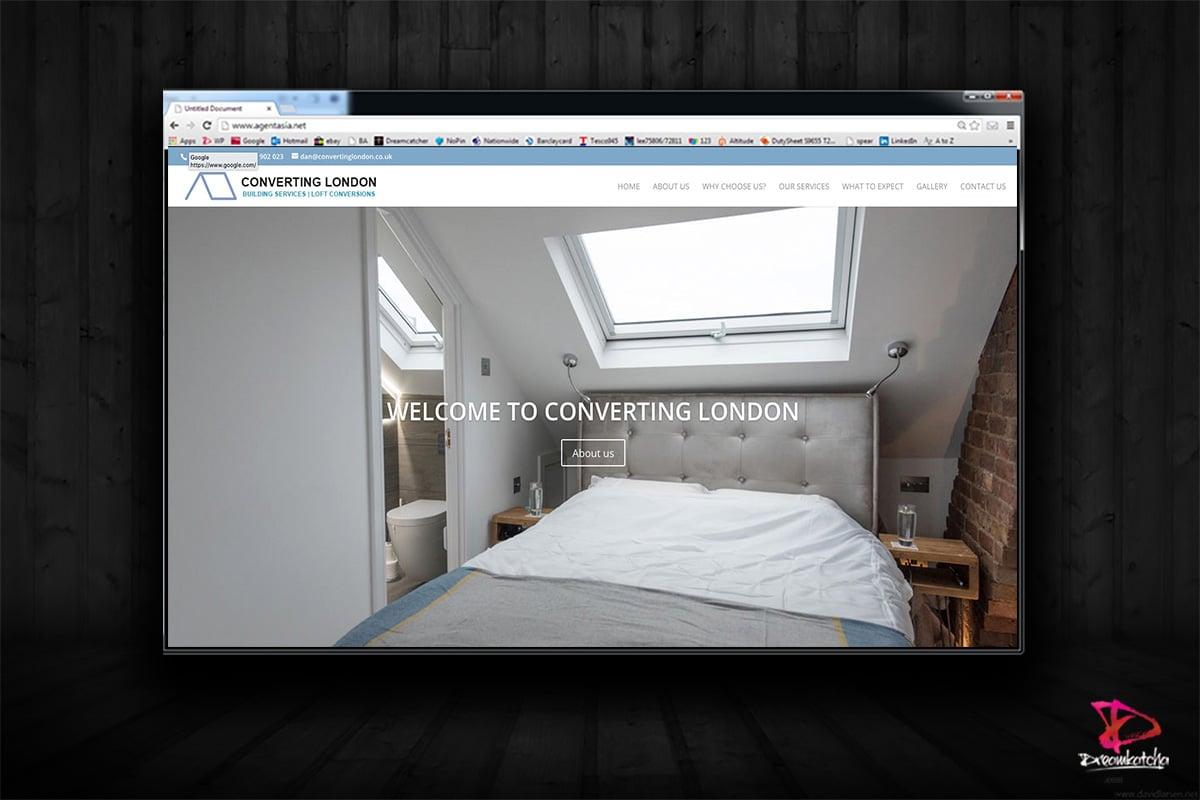 website Design for Buiding Company London