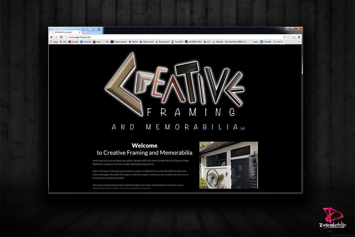 website Design for Art Company London Bracknell