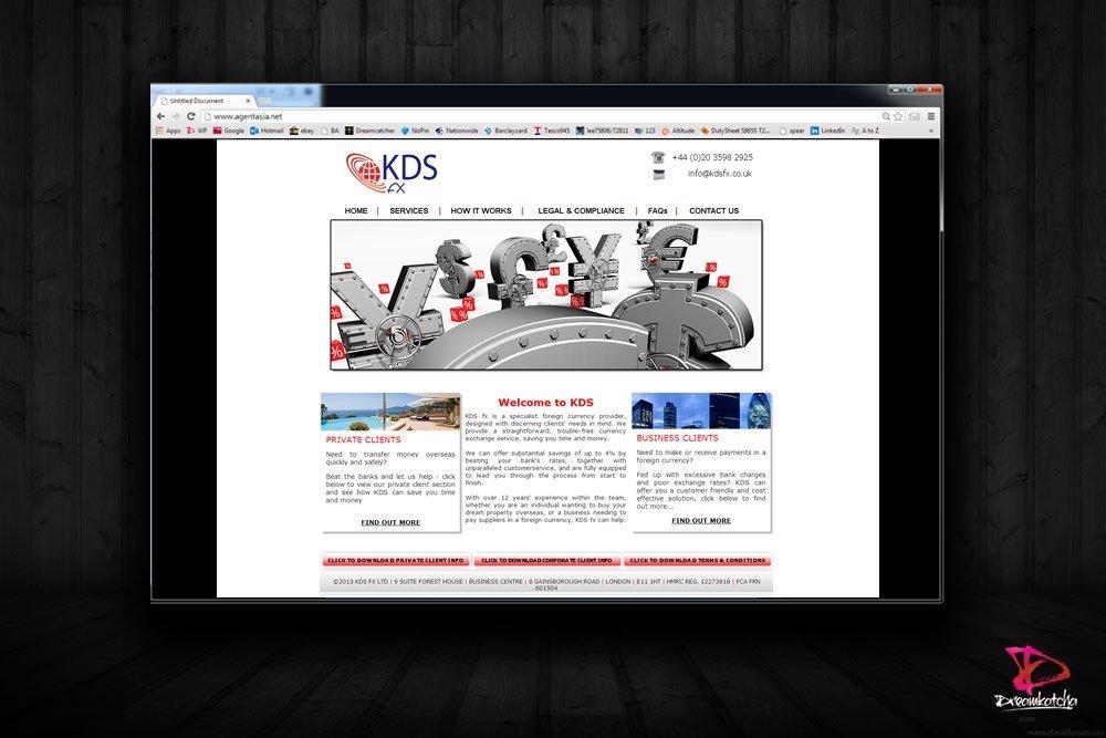 website Design for London Agency