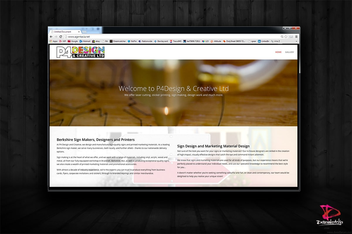 website Design for Design Company London