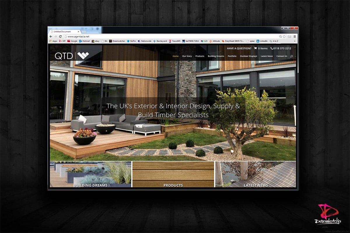 website Design for Decking London Wokingham