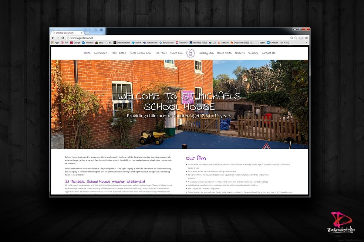 website Design for School Bracknell London