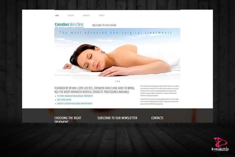 website Design for Beauty Salon London
