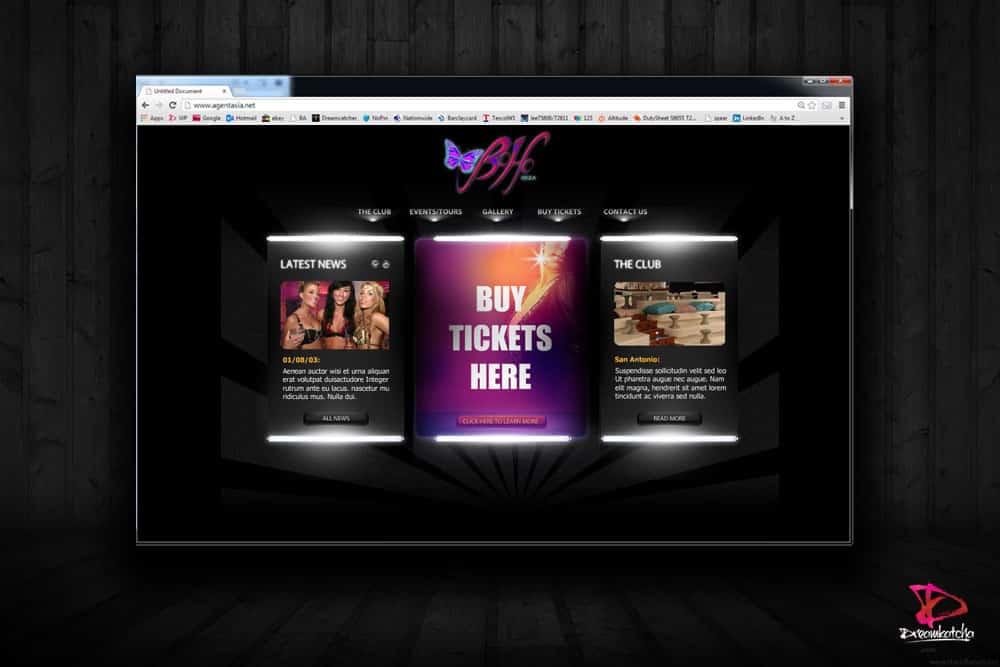 Wordpress Website design for a company in Ibiza