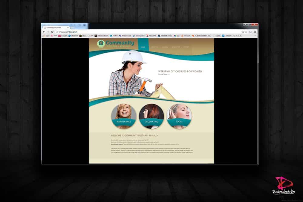 Webdsite design for a company in Bracknell