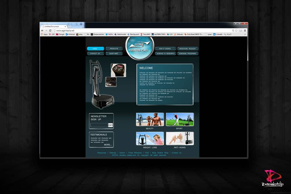Wordpress Website design for a company in Slough, Berkshire