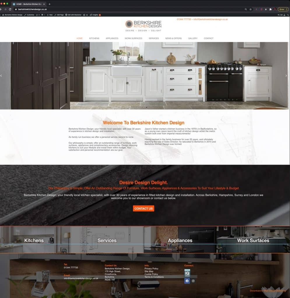 Website designers in Berkshire